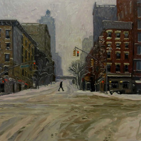 First Avenue Snow