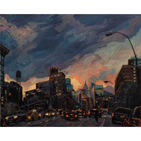 Bowery Sunset