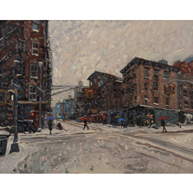 West Village Snowfall