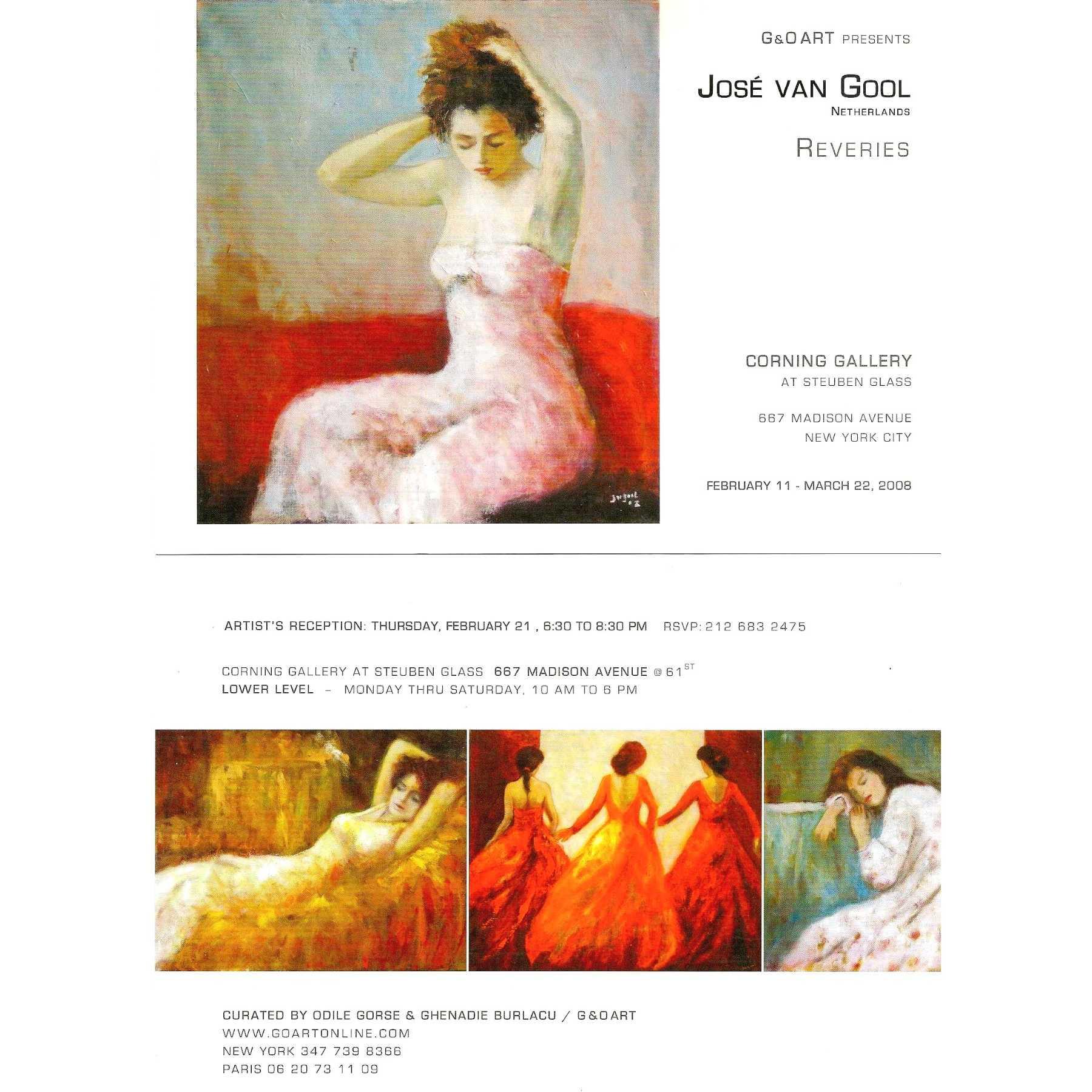 Van GOOL at Corning Gallery