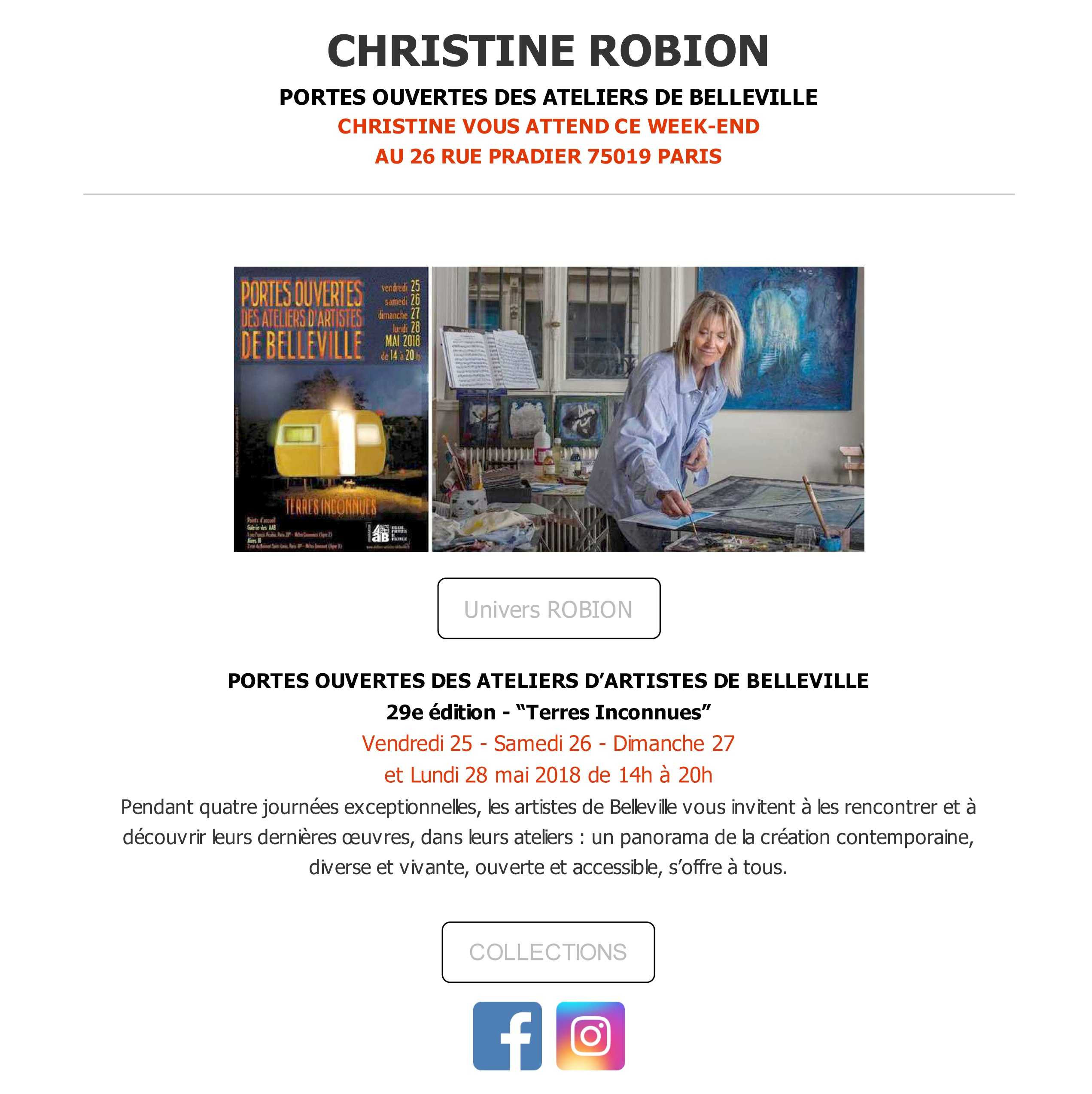 ROBION - open studio