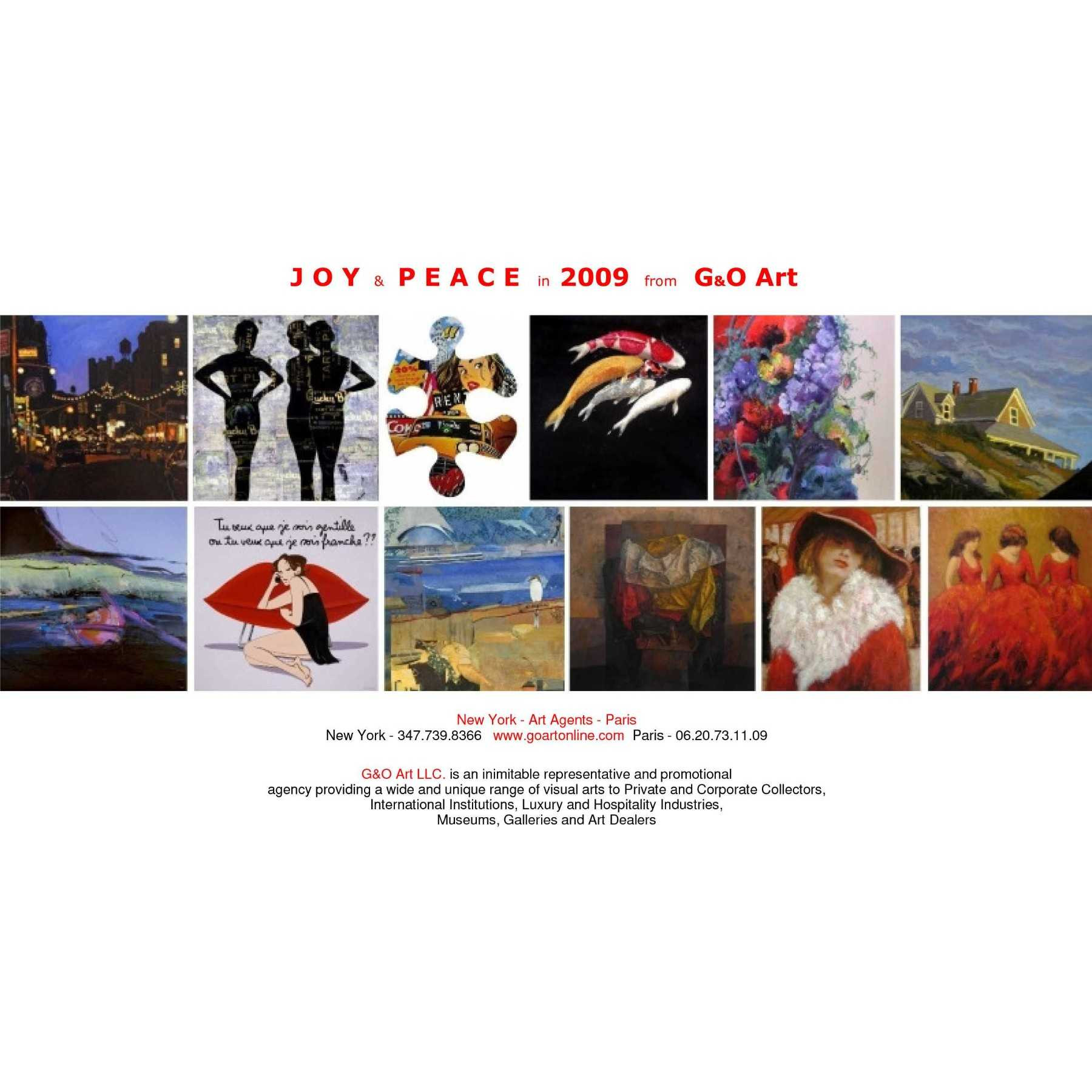 Joy and Peace in 2009
