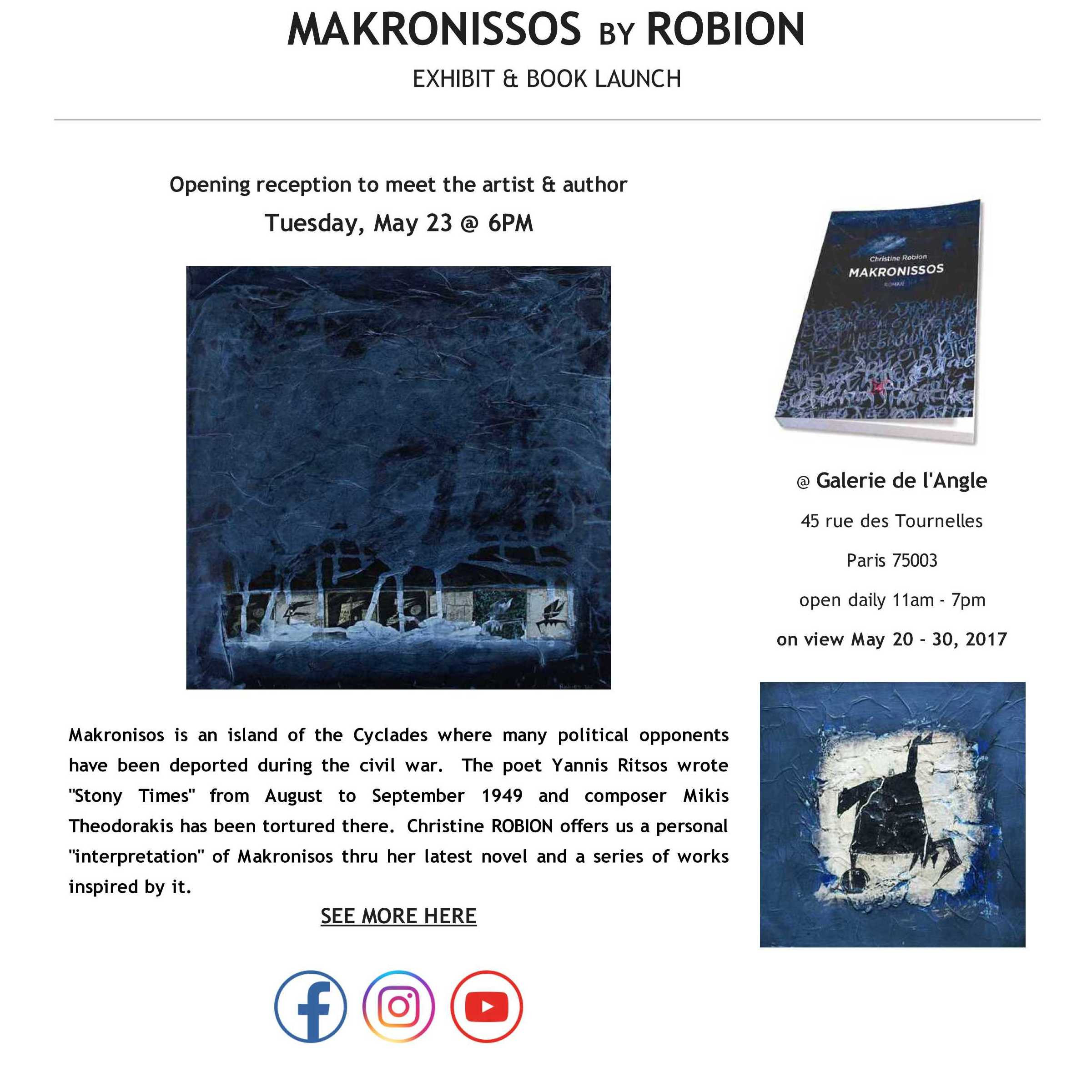 Robion: book launch