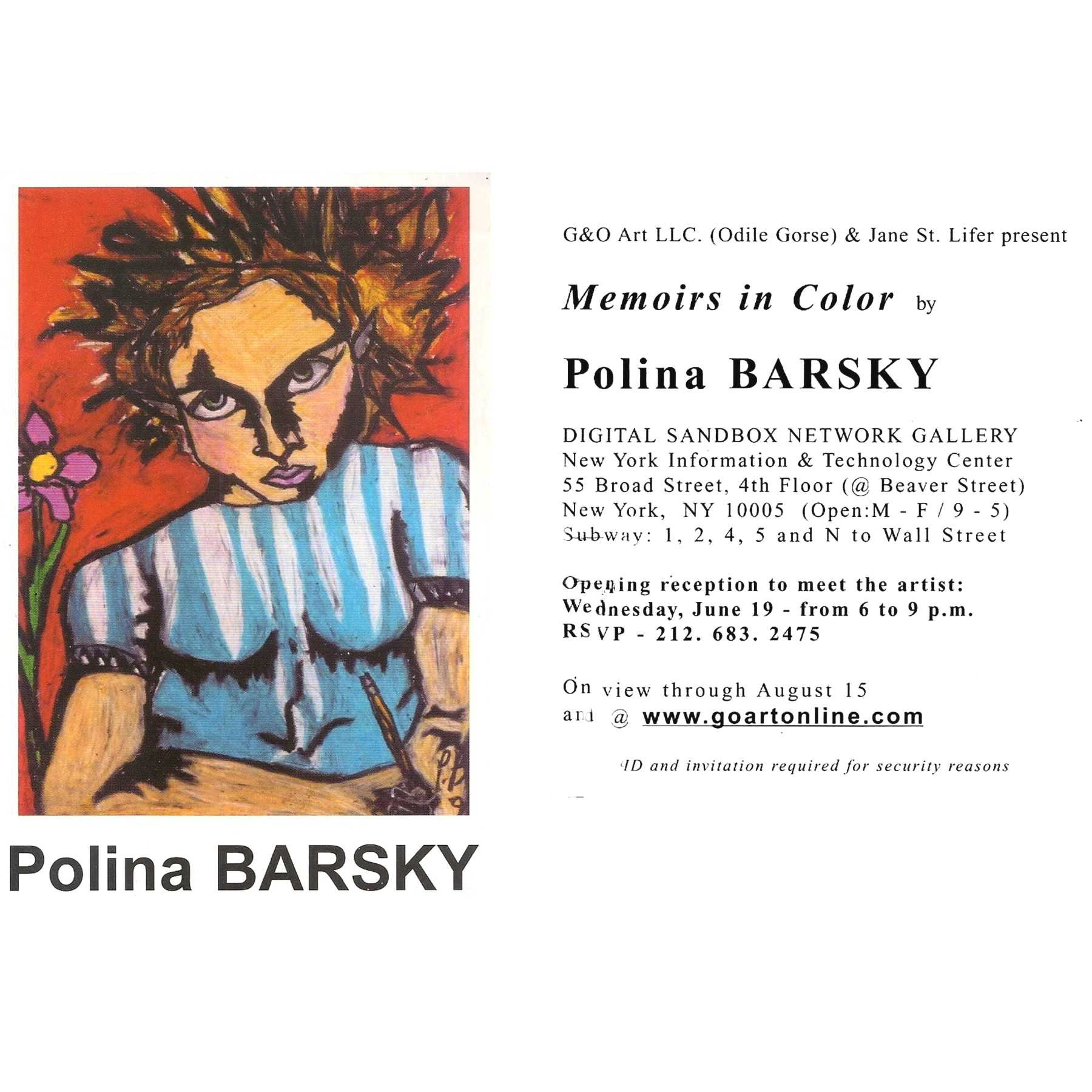 BARSKY at DSN Gallery