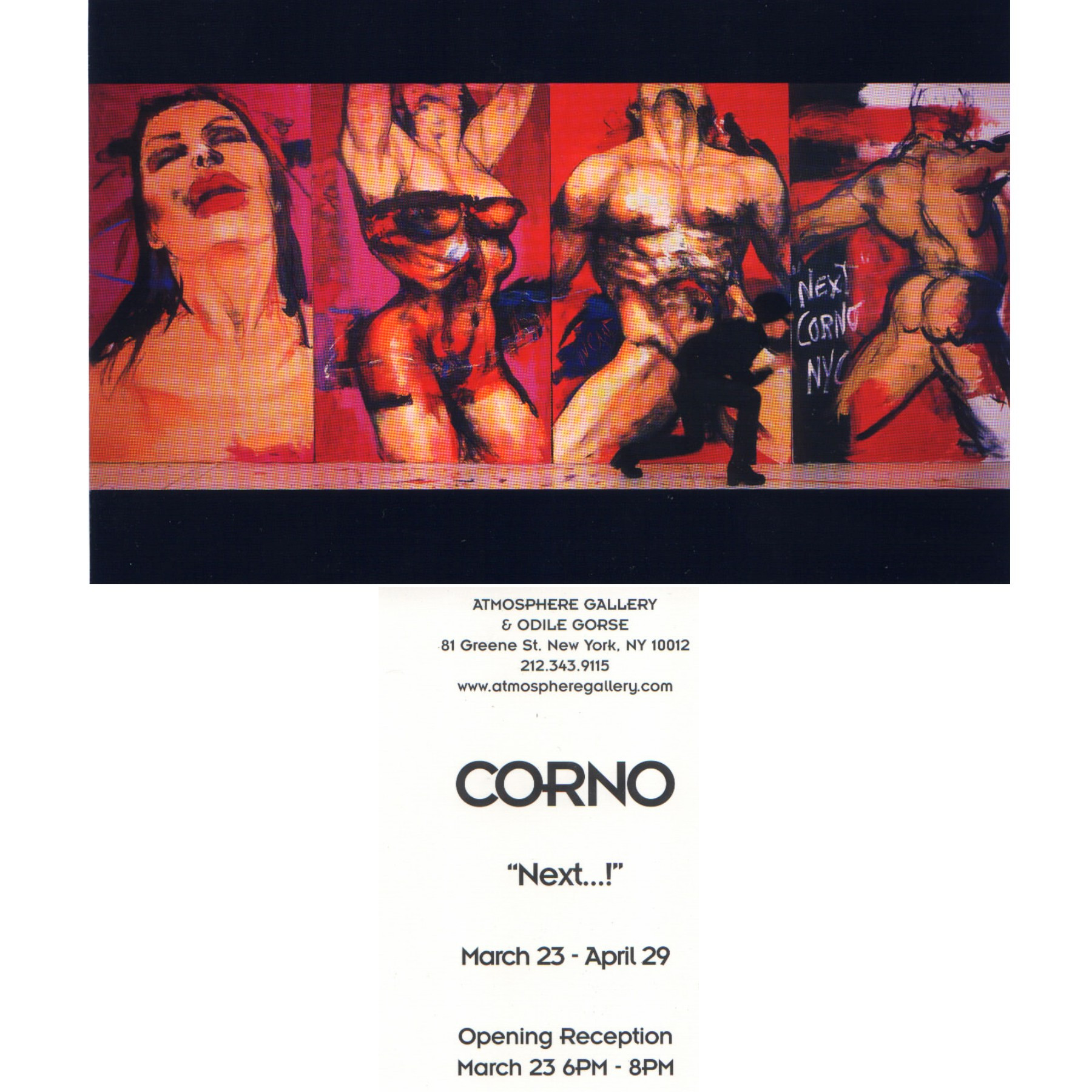 CORNO at Atmosphere Gallery