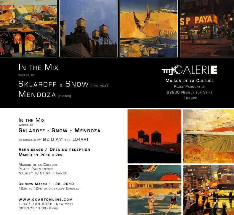 Sklaroff & Snow at MCJ Gallery