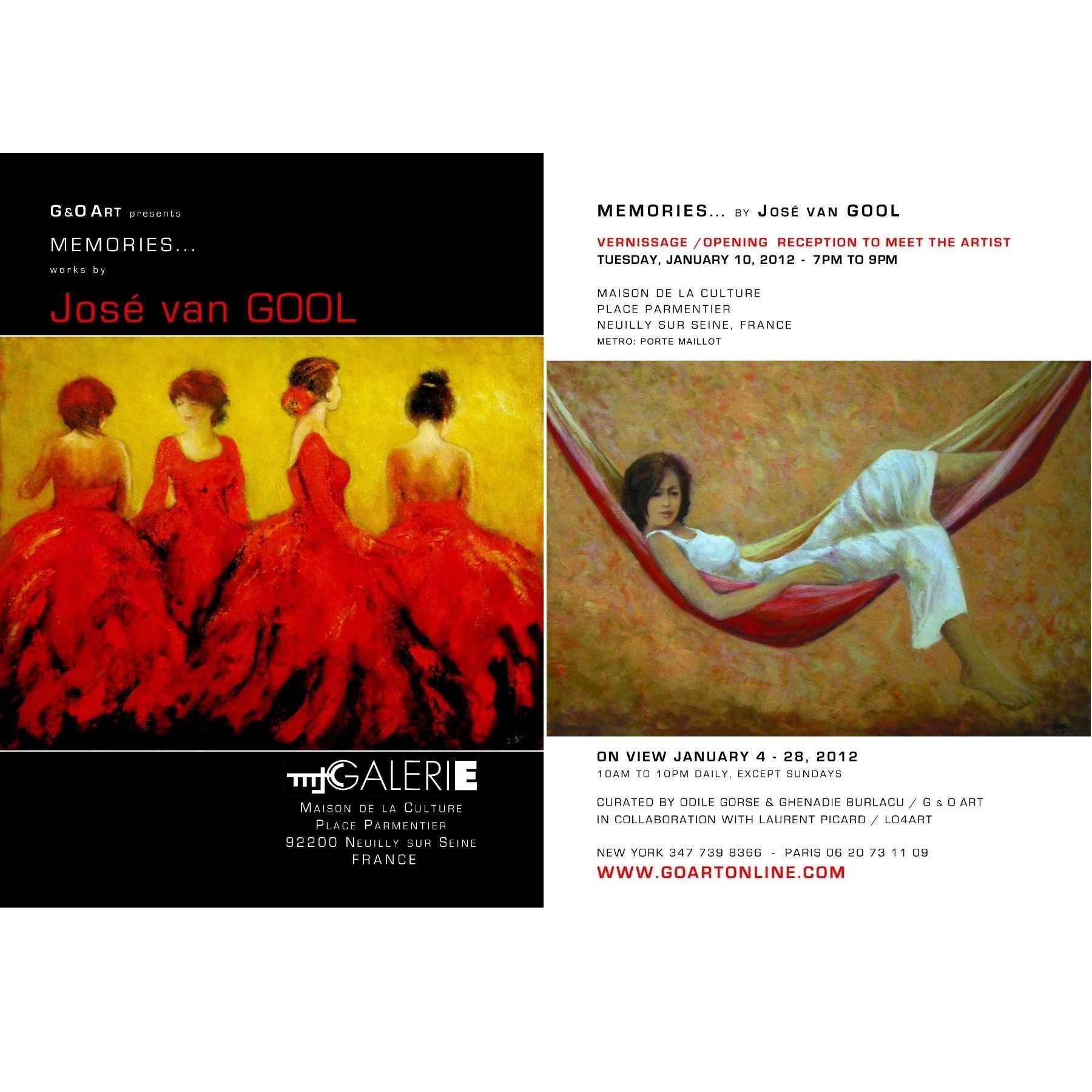 van GOOL at MJC Gallery