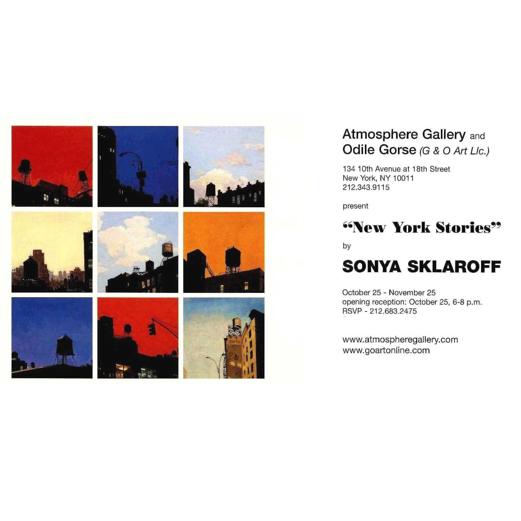 SKLAROFF at ATMOSPHERE Gallery