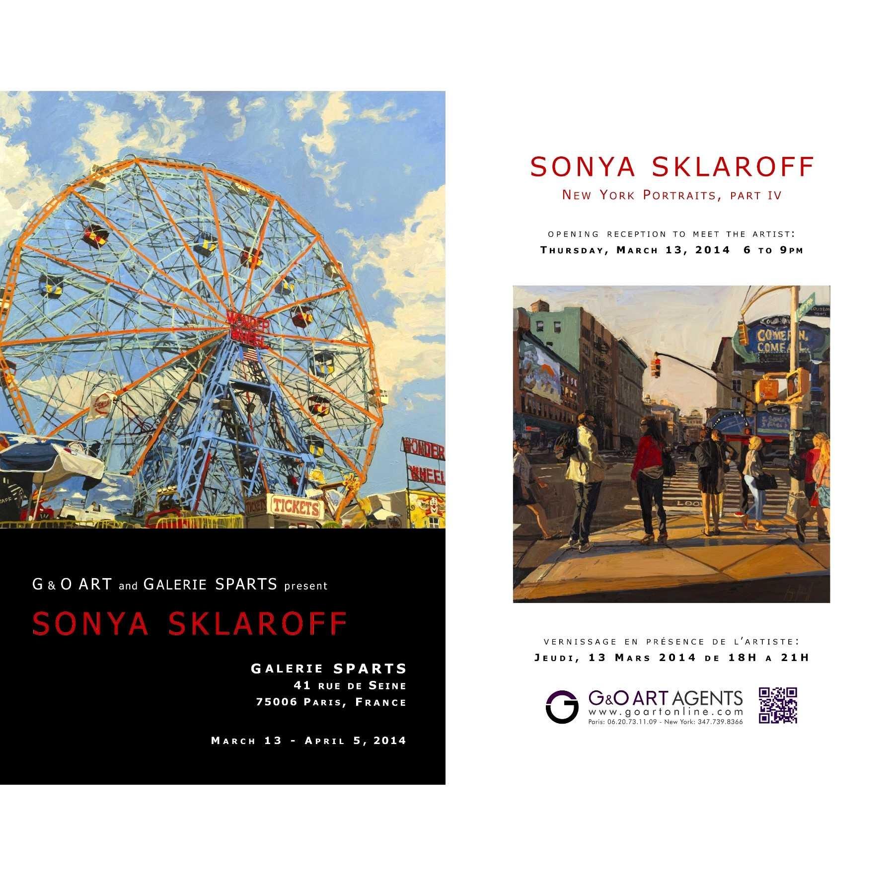 SKLAROFF at Sparts Gallery