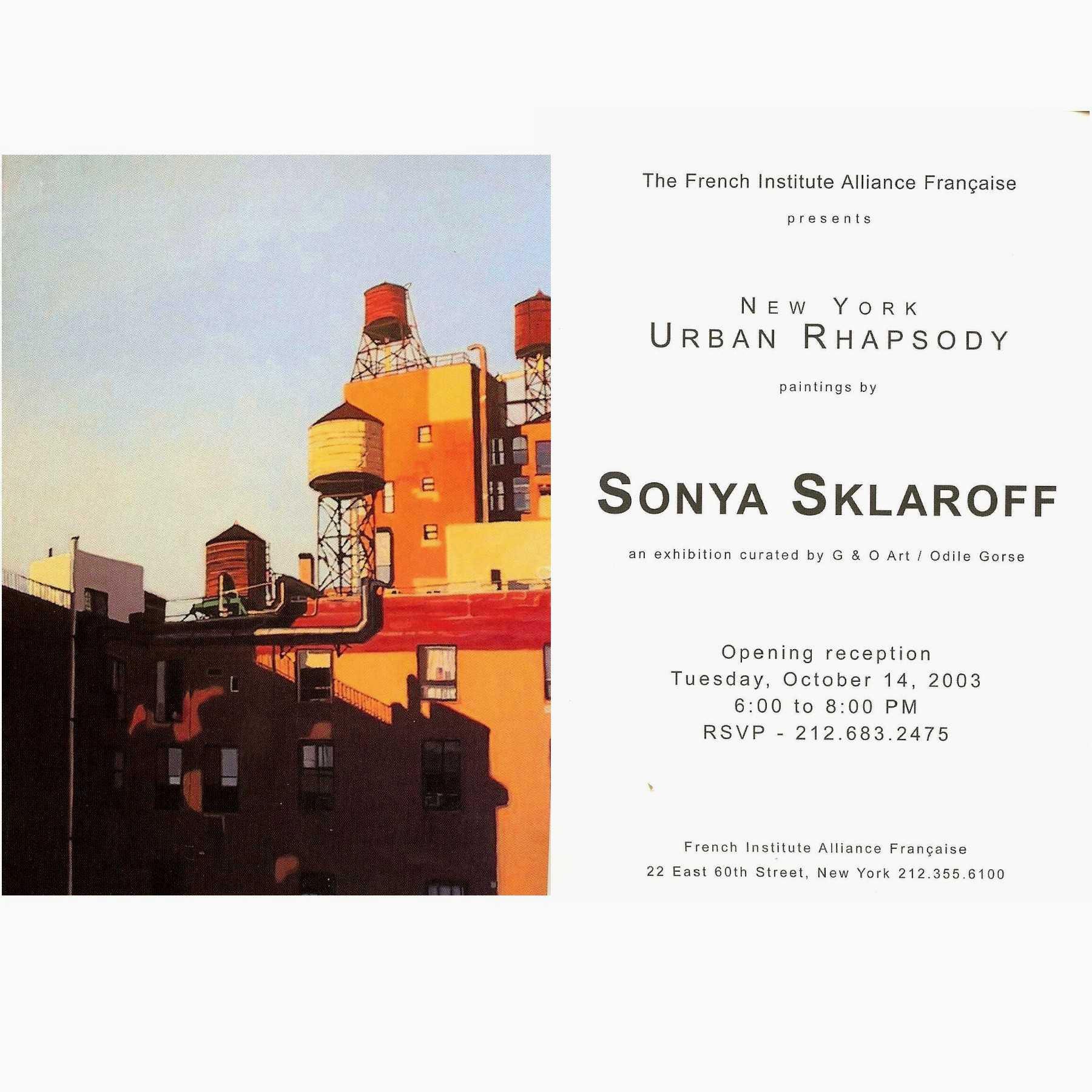 SKLAROFF at FIAF