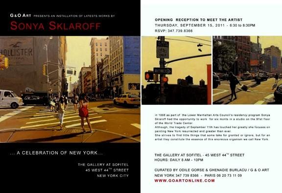 SKLAROFF at Sofitel NYC