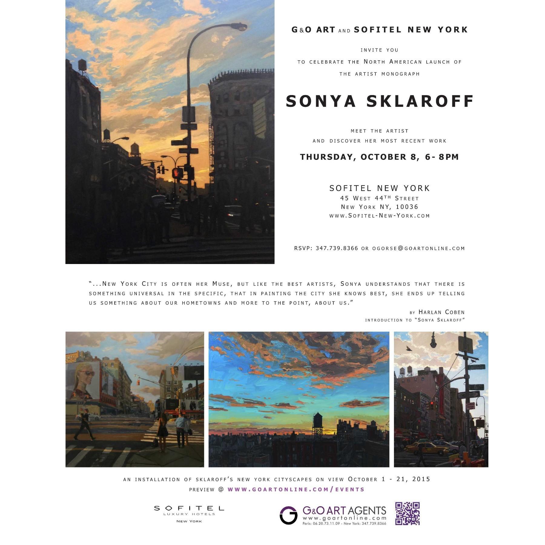 SKLAROFF - monograph launch