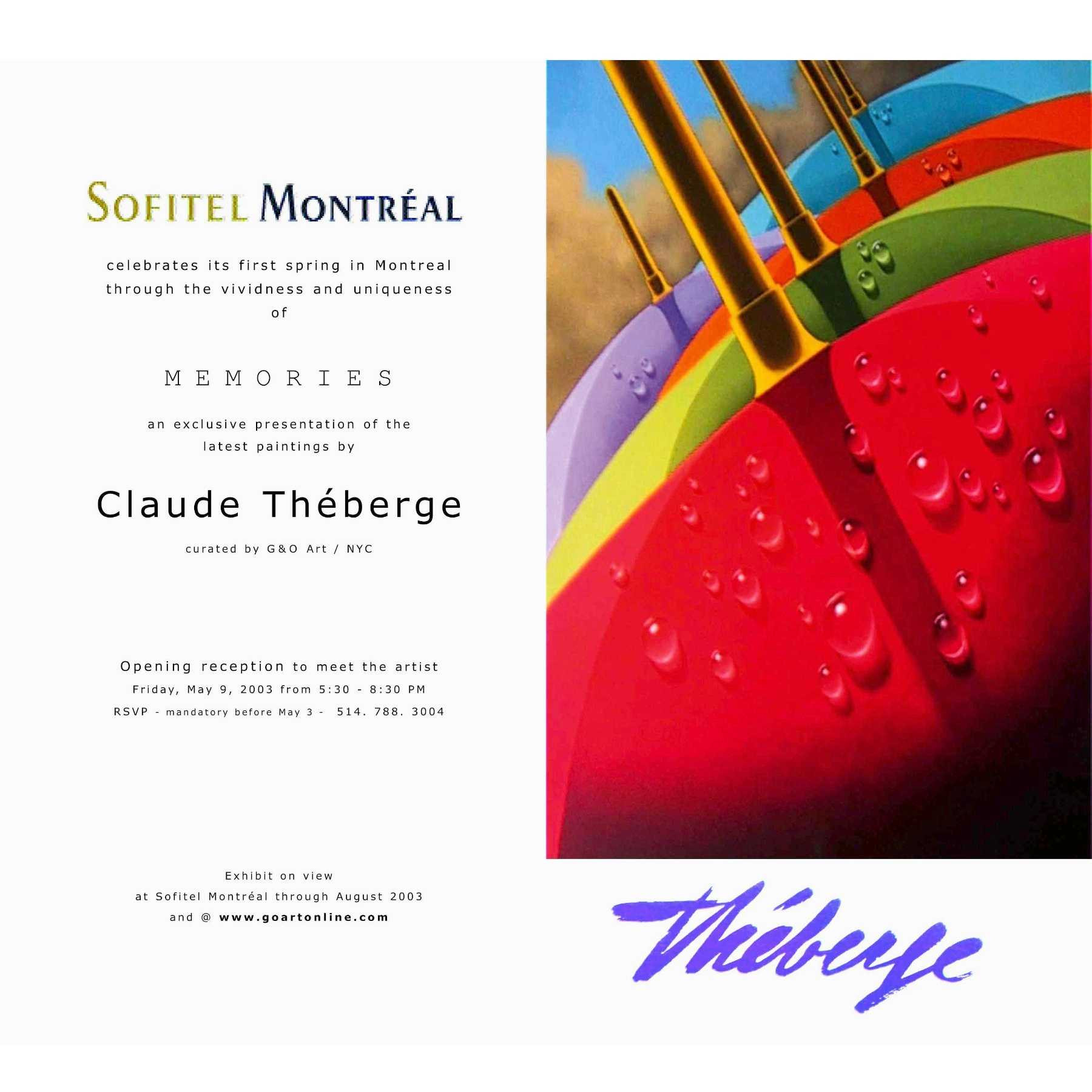 THEBERGE at Sofitel Montreal