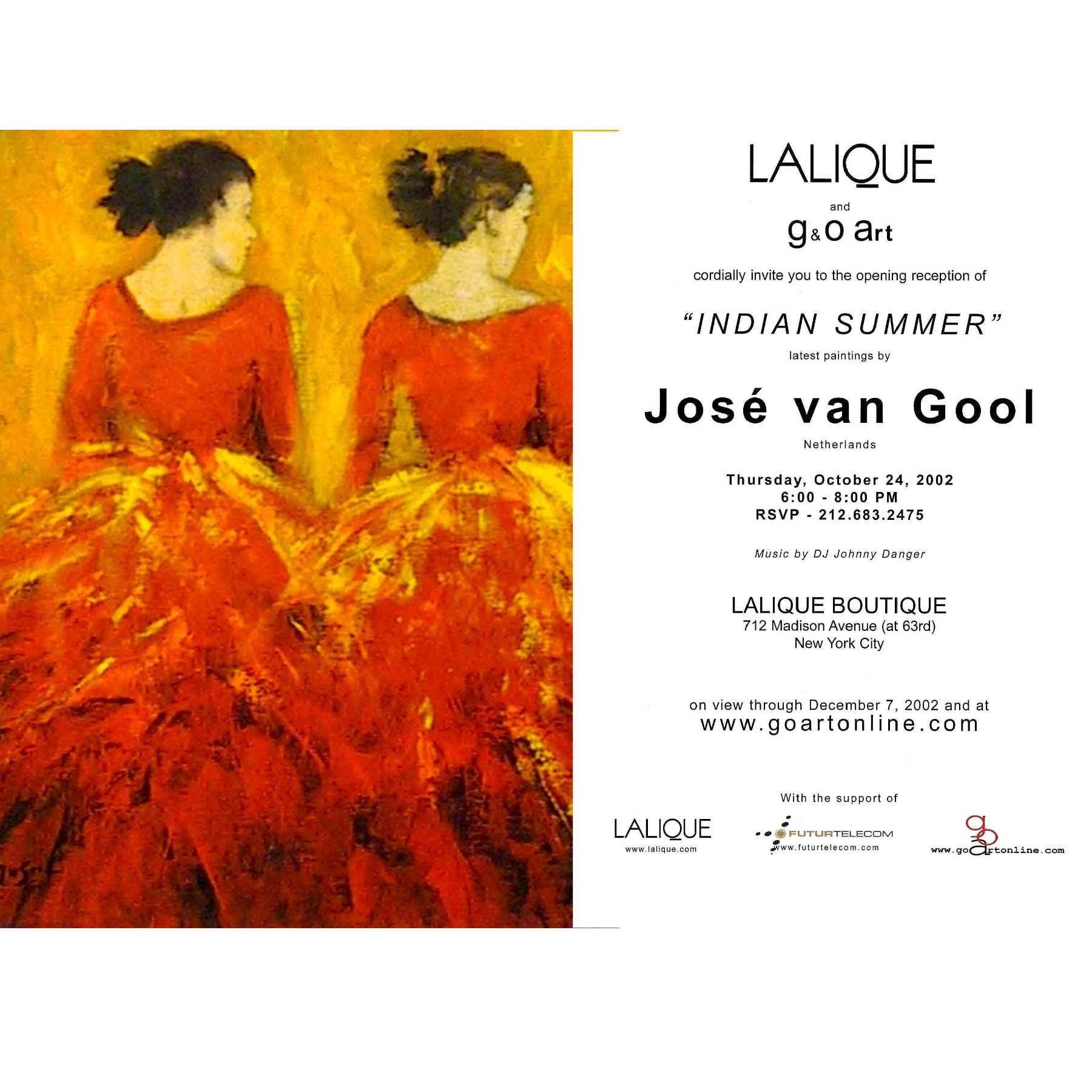 VAN GOOL at Lalique