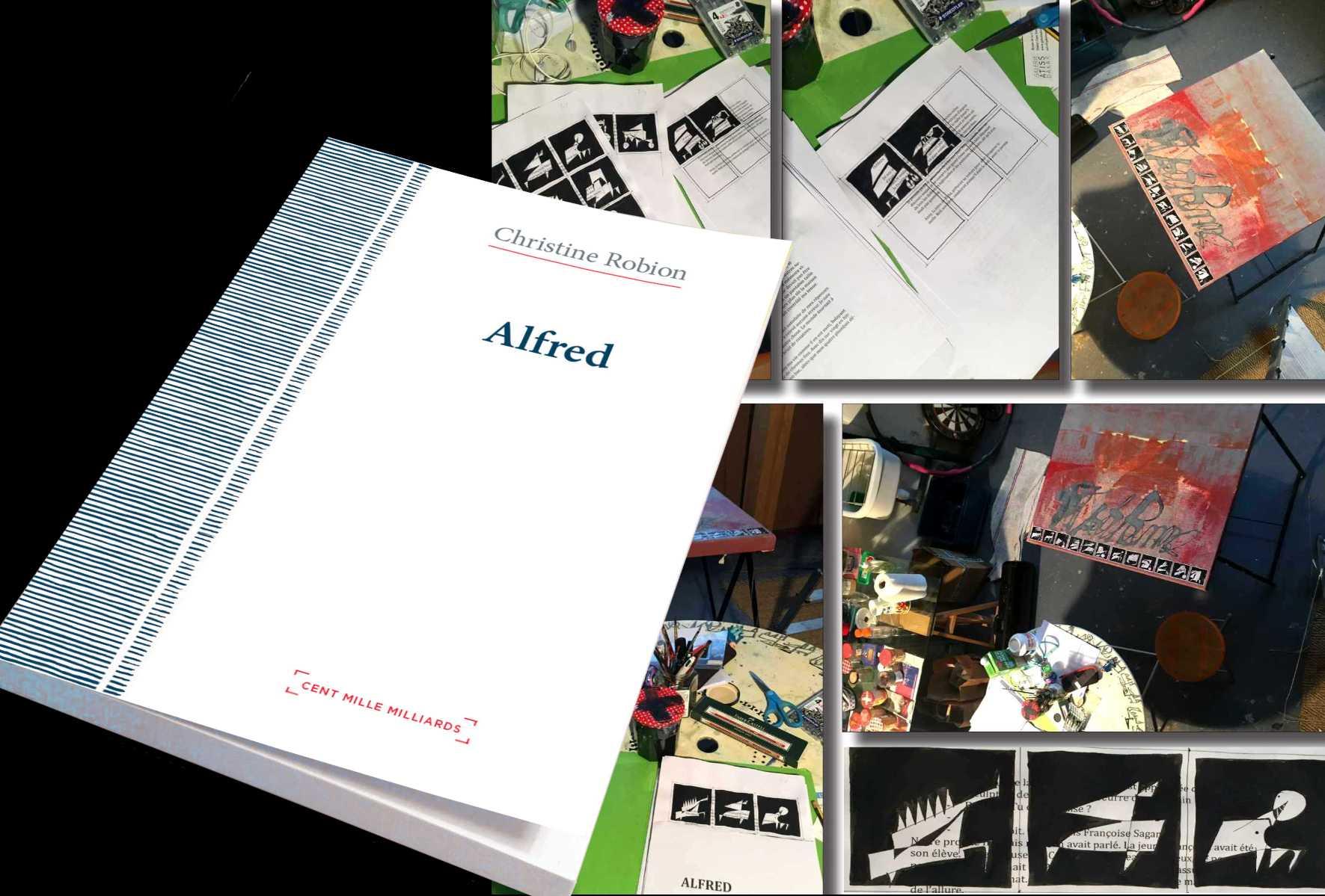 ALFRED: un roman - une expo